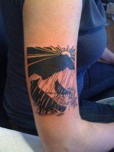 Cloud Tattoo 24