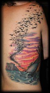 Cloud Tattoo 3