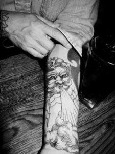 Cloud Tattoo 4