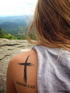 Cross Tattoo 38
