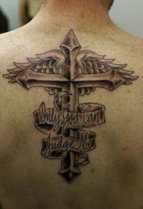 Cross Tattoo 40