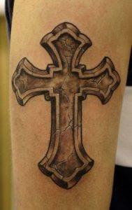 Cross Tattoo 46