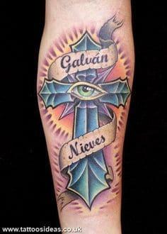 Cross Tattoo 48