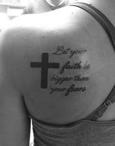 Cross Tattoo 50