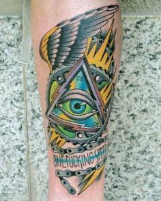 Eye Tattoo 12