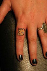 Finger Tattoo 18