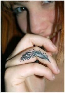 Finger Tattoo 24