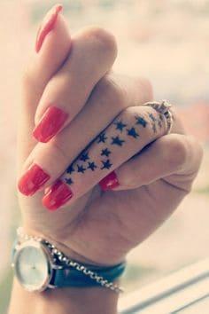 Finger Tattoo 34