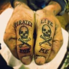 Finger Tattoo 39
