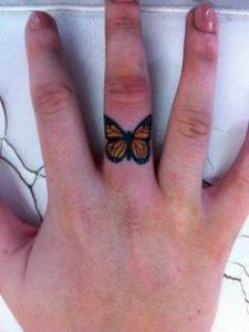 Finger Tattoo 46