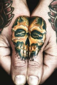 Finger tattoo 60 best artists top shops for Best tattoo shops in bakersfield ca