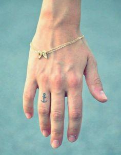 Finger Tattoo 9