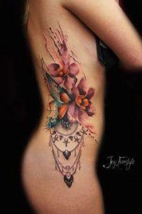 Flower Tattoo 12