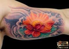 Flower Tattoo 13