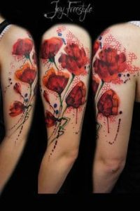 Flower Tattoo 15