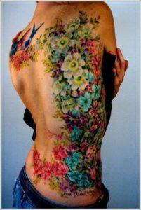 Flower Tattoo 16