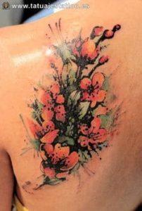 Flower Tattoo 21