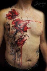 Flower Tattoo 48