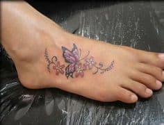Foot Tattoo 10