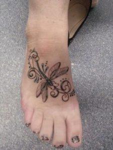 Foot Tattoo 14