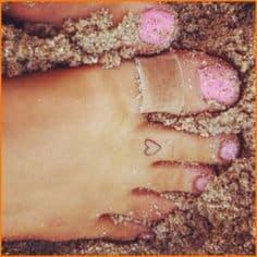 Foot Tattoo 15