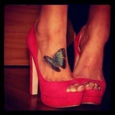 Foot Tattoo 16