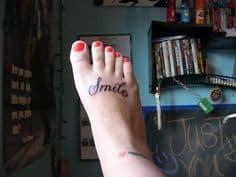 Foot Tattoo 18