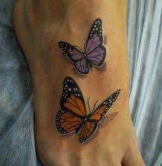 Foot Tattoo 20