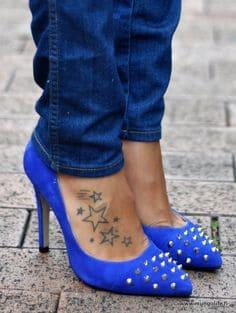 Foot Tattoo 21