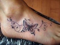 Foot Tattoo 22