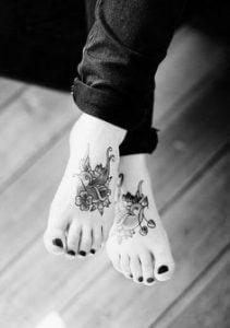 Foot Tattoo 23