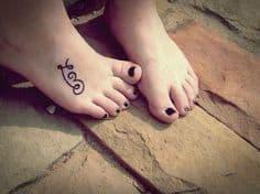 Foot Tattoo 24