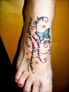 Foot Tattoo 25