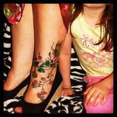 Foot Tattoo 26