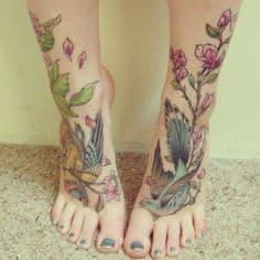 Foot Tattoo 34