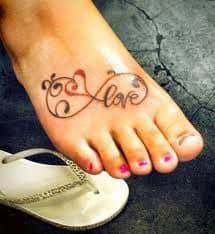 Foot Tattoo 40