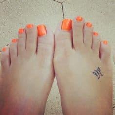 Foot Tattoo 41