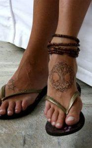 Foot Tattoo 49