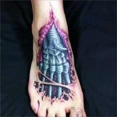 Foot Tattoo 51