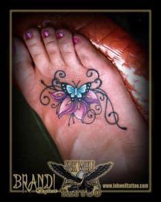Foot Tattoo 6