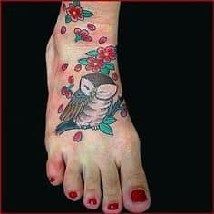 Foot Tattoo 9