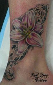 Lily Tattoo 1