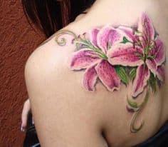 Lily Tattoo 11