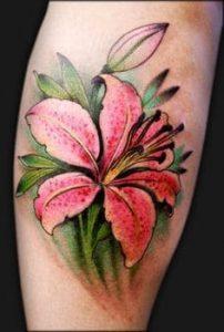 Lily Tattoo 22
