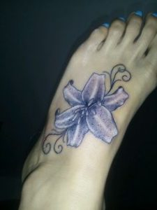 Lily Tattoo 24