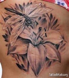 Lily Tattoo 25