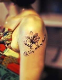 Lily Tattoo 42