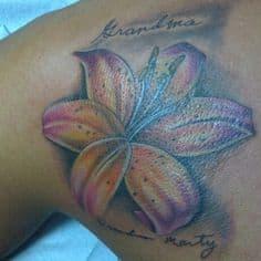 Lily Tattoo 5