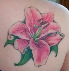 Lily Tattoo 6