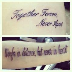 Matching Tattoo 5